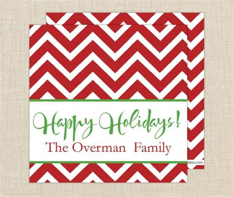 Chevron Gift Card - christmas chevron gift cards brown paper studios
