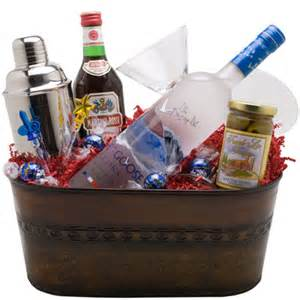 holiday wine cellar grey goose martini gift basket