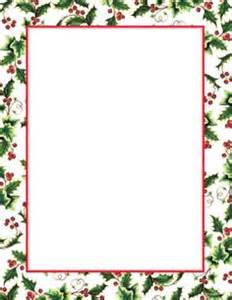 free christmas page border templates clipart best