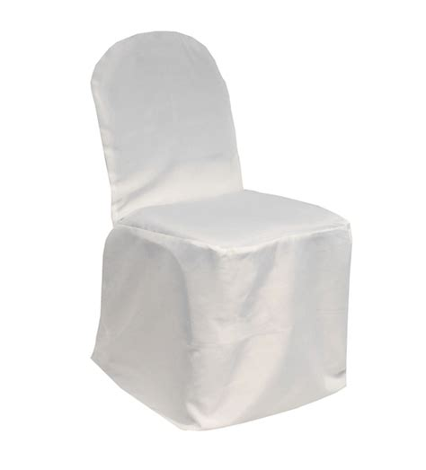 slipcovers for folding chairs poyester banquet chair cover