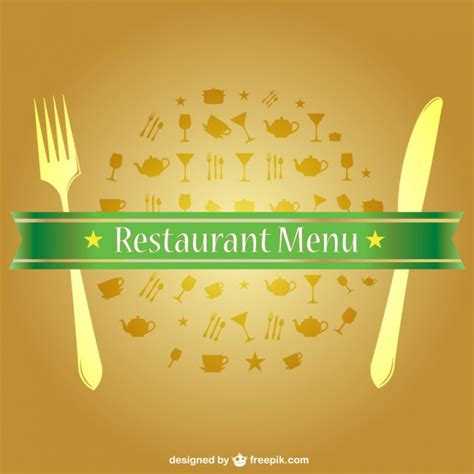Commercial Kitchen Layout Design free vector food menu vector free download