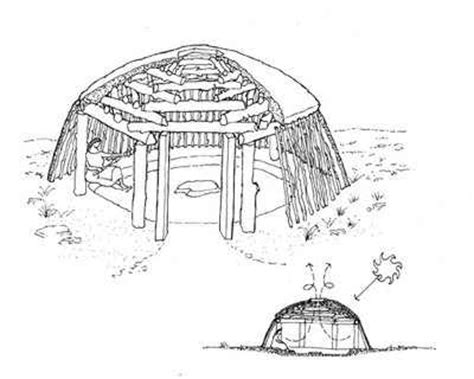 navajo hogan floor plans navajo hogan spontaneous architecture pinterest navajo