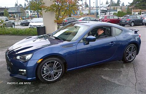 blue galaxy car changes to the 2014 subaru brz autos post