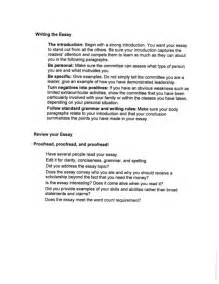 How To Write Scholarship Essay by How To Write A Scholarship Essay