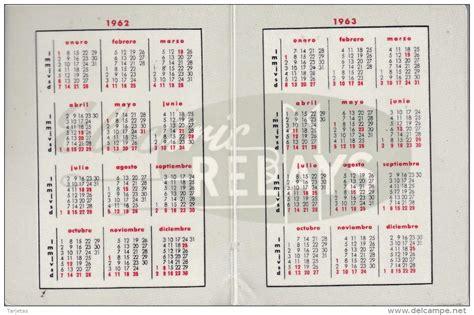 Calendario De 1961 Small 1961 70 Calendario A 209 O 1962 Y 1963 De Ralux