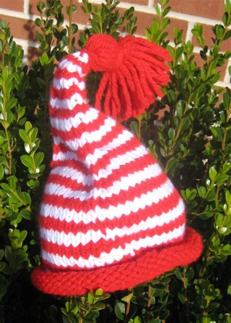 elf pattern pinterest easy elf hat free pattern knitting i like pinterest