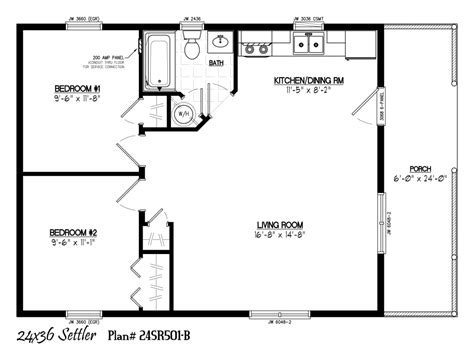 24 x 36 cabin plans 36x24 house plans home deco plans