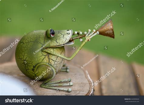 Decorative Frogs by Decorative Frog In The Garden Stock Photo 463999043