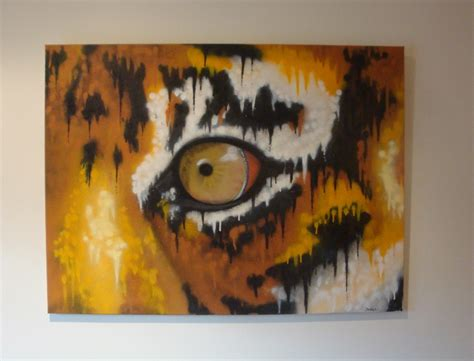 spray paint in canvas graffiti artist melbourne tiger eye set it
