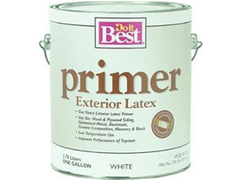 exterior house paint primer cox hardware and lumber best exterior primer sizes