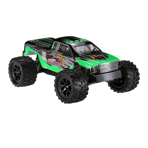 bigfoot electric monster truck green us wltoys l969 2 4g 1 12 scale 2wd 2ch brushed