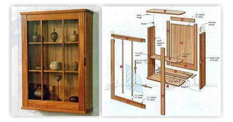 Wall Display Cabinet Plans ? WoodArchivist
