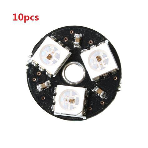 smart drive light meanings 10pcs cjmcu 3bit ws2812 rgb led full color drive led light