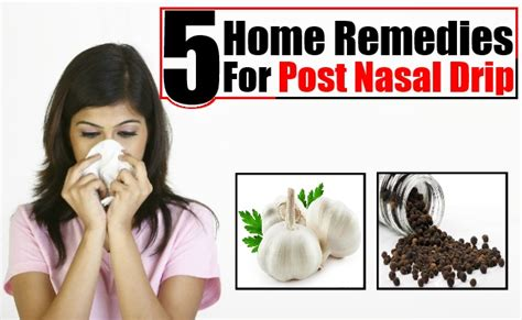 home cure post nasal drip