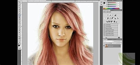 change hair color online photo editor how to change hair color in adobe photoshop 171 photoshop