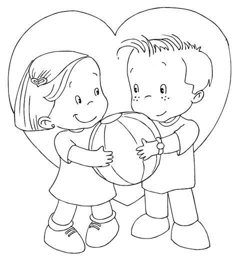imagenes bonitas para colorear de amor y amistad 14 de febrero d 237 a de san valent 237 n dibujos para colorear