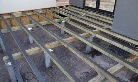 Lay Decking On Patio by How To Lay Decking Bunnings Warehouse