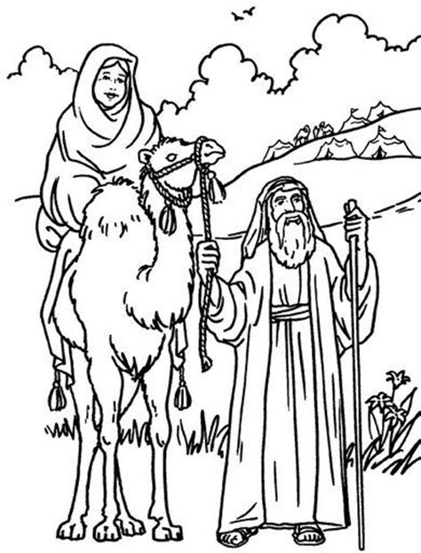 bible coloring pages abraham and sarah 210 best images about abraham crafts on pinterest crafts