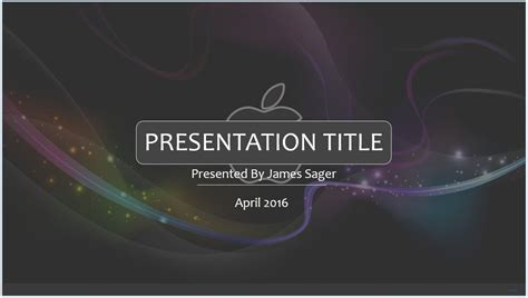 Free 3d Apple Powerpoint Template 8391 Sagefox Powerpoint Templates Apple Powerpoint Templates