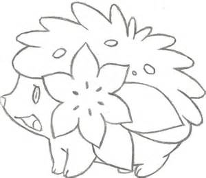 Shaymin Coloring Pages coloring pages of shaymin coloring pages