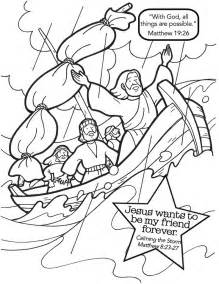 jesus calms the coloring page 1000 ideas about jesus calms the on