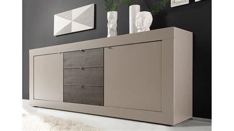 kommode 210 cm sideboard basic kommode beige matt eiche wenge b 210 cm