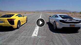 What Is Faster Lamborghini Or Bugatti Bugatti Veyron Vs Lamborghini Aventador Vs Lexus Lfa Vs