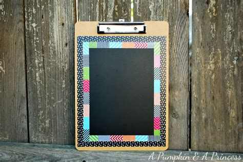 you have to see washi tape clipboard on craftsy washi tape chalkboard clipboard