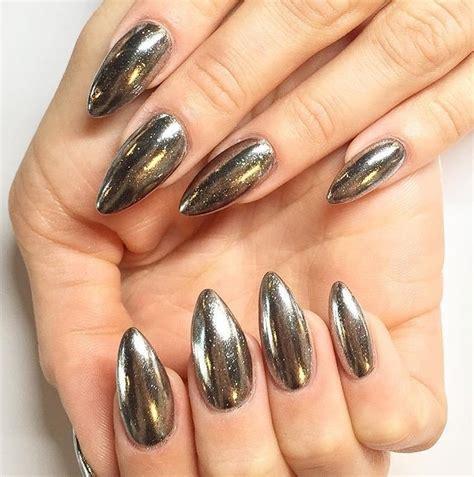 Gold Mirror Chrome Powder Nail Kuku Chrome Metal Korea Nail mirror