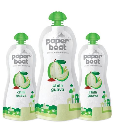 boat juice paper boat chili guava juice 250 ml pack of 3 buy paper