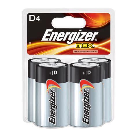 Batt Ori Evercoss Model 4d energizer max alkaline d battery 4 pack e95sbp4t1 the home depot