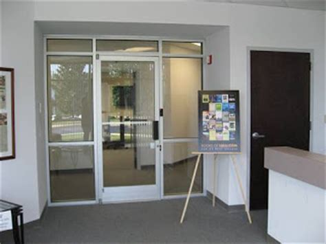 Office And Factory Renovation Commercial Office Doors Commercial Interior Glass Door