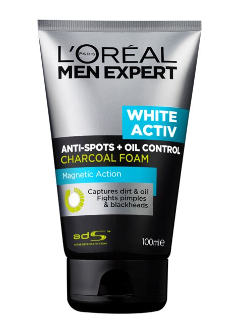Loreal White Foam 100 Ml l oreal expert white activ charcoal foam