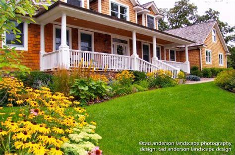 Landscape Design Minneapolis Cities Suburban Farmhouse Late Summer Minnesota