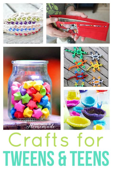 Paper Crafts For Tweens - 40 easy crafts for tweens happiness is