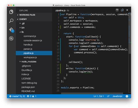 tutorial visual studio code mac using visual studio code on mac os x