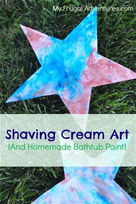 homemade bathtub paint shaving cream painting homemade bathtub paint my