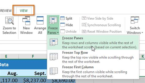 tutorial excel freeze panes how to freeze columns in excel image collections how to