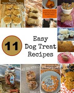 11 of the easiest tastiest homemade dog treat recipes