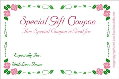 wedding present voucher ideas birthday gift certificate clipart clipart suggest