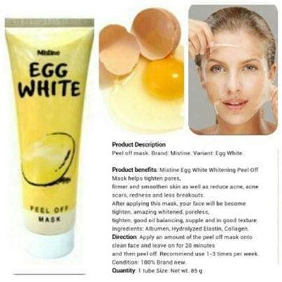 Hanasui Egg White Peel Mask Hanasui Eggwhite mistine egg white peel mask k colly sweet 17 malaysia