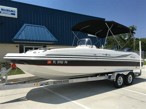 ebay hurricane boats for sale hurricane 231 deck boat 2014 for sale for 41 900 boats
