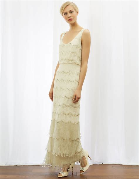 modern day gatsby glamour flapper wedding dresses 1920s wedding dresses hitched co uk