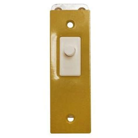Light Switch Home Depot by Edwards Signaling Electric Door Light Switch With Gold
