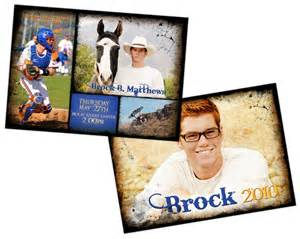 5x7 sided graduation invitation bake sale graduation announcements