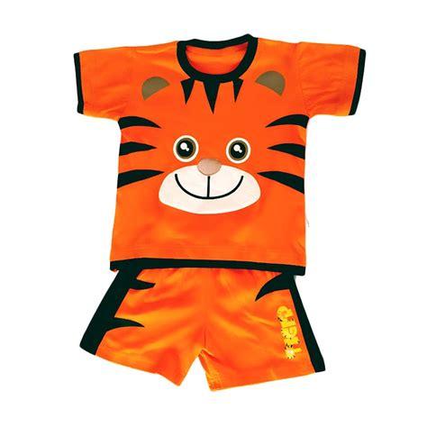 Terbatas Setelan Baju Anak Chiloci Prime Laris Jual Dessan Tiger Pendek Baju Setelan Anak