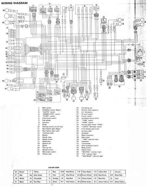 Wiring Diagram Yamaha Enticer