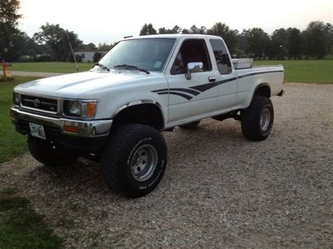 1992 Toyota 4x4 For Sale 1992 Toyota Sr5 Cab 4x4 Truck For Sale