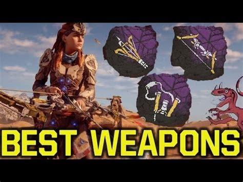 tutorial war bow horizon best war bow sling in horizon zero dawn youtube