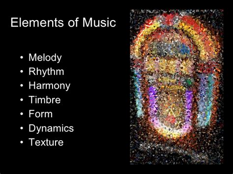 Elements Music | elements of music definitions